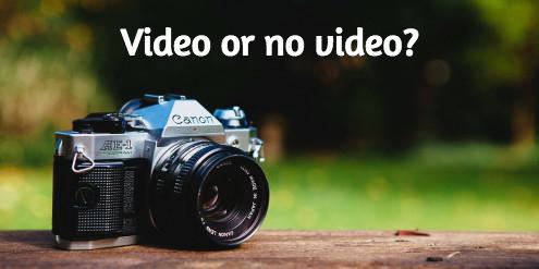 video-no-video