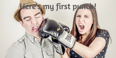 my first punch